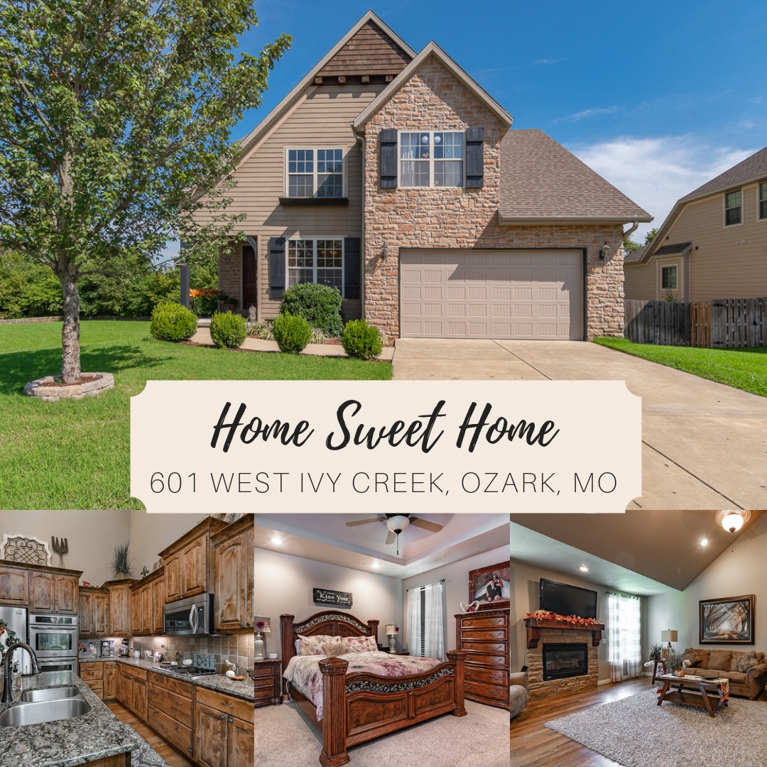 OZARK MO REAL ESTATE | 601 West Ivy Creek Drive | MLS #60118337