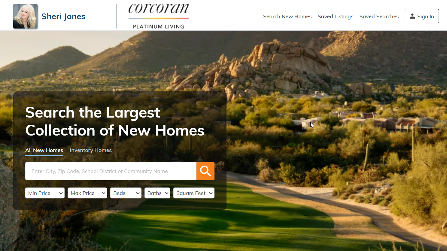 New Build Homes in Phoenix, AZ - Easy to use site at your fingertips