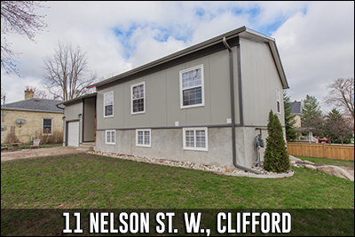 11 Nelson St W Clifford Real Estate Listing