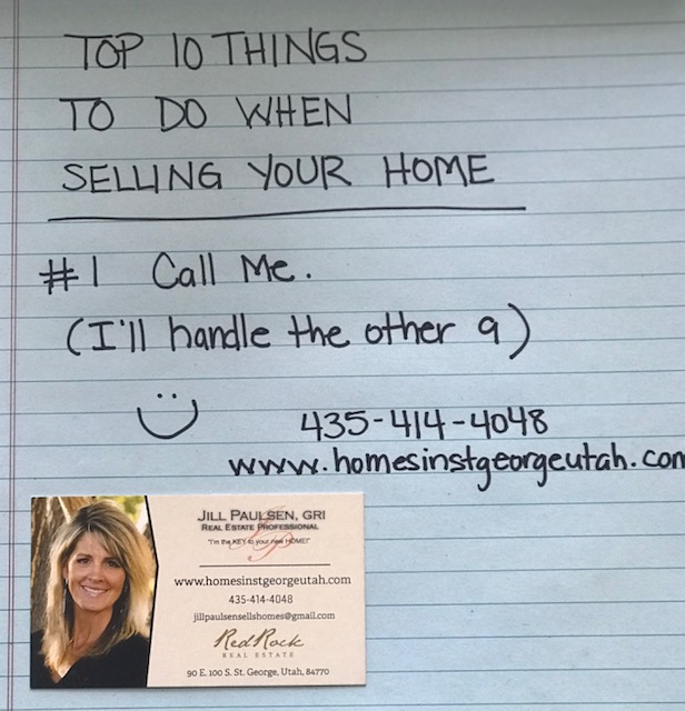 TOP 10 THINGS TO DO WHEN SELLING YOUR HOME!