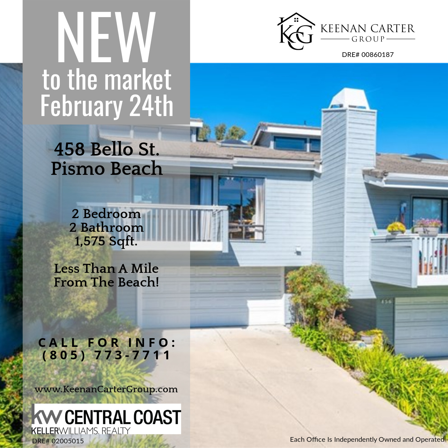 Pismo Beach Condo For Sale - 2 Bedroom 2 Bathroom With Ocean Views