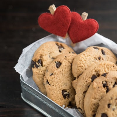 The BEST Chocolate Chip Cookies - Just In Time for Valentine's Day!