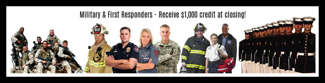 First Responders and Miliary Discount