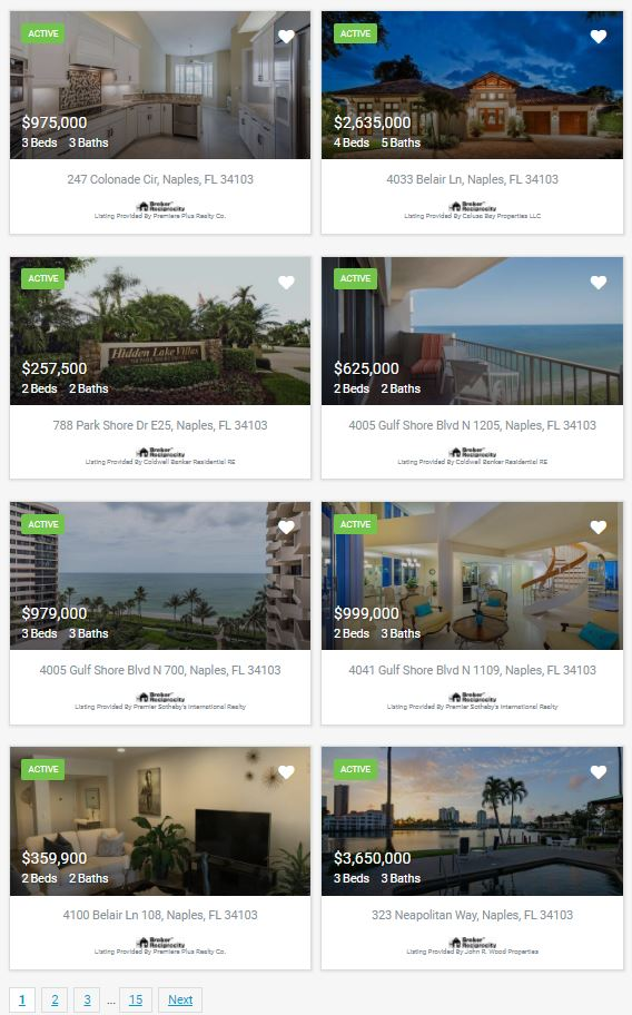 Park Shore Real Estate For Sale