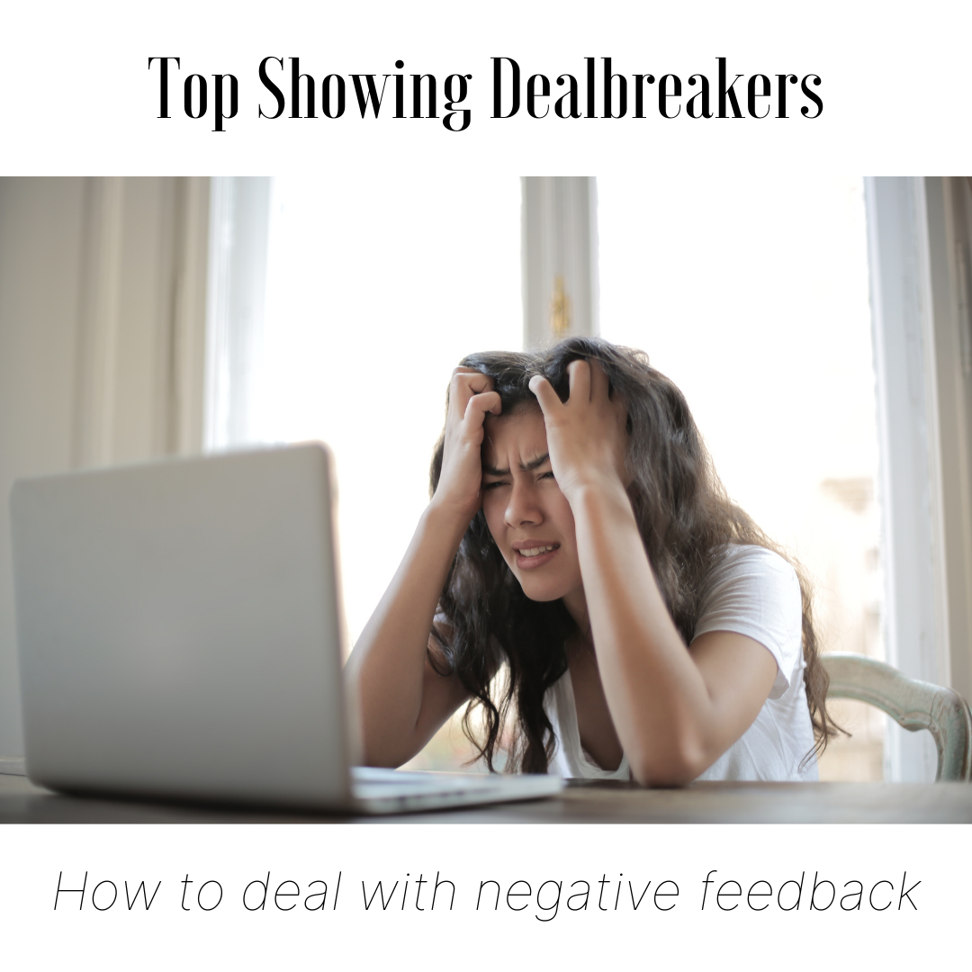 How to Deal with Negative Showing Feedback