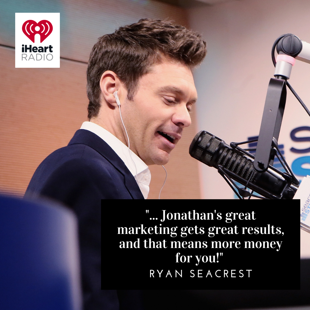 Ryan Seacrest Endorses Jonathan Lahey Real Estate Agent and Team - Love Your Home Guaranteed or We'll Buy It Back!