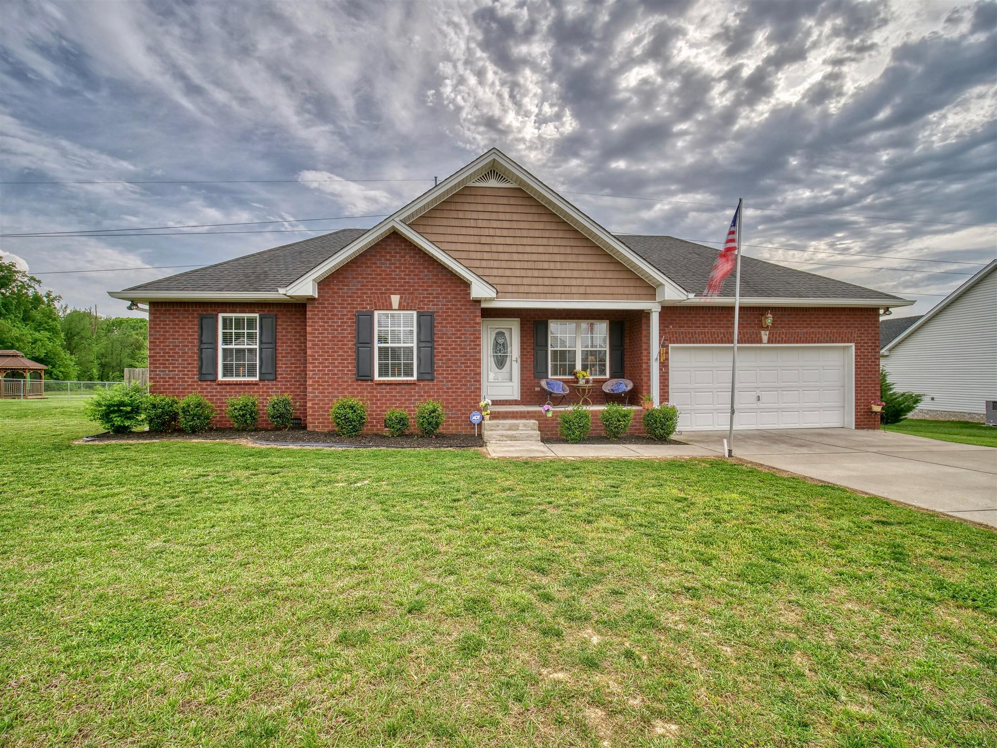 3BR/2BA Home On Level .56 Acre Lot With Spacious Living Room And Kitchen.  Located At 124 Beaver Creek Dr., Portland, TN,  37148