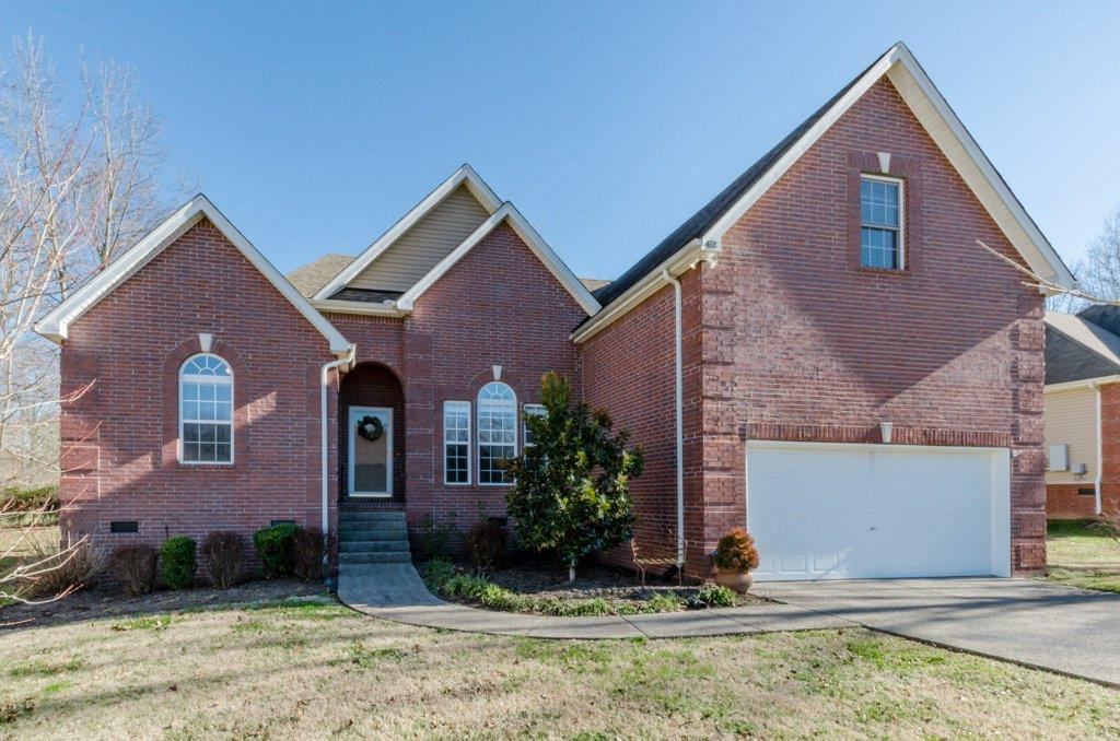 Beautifully Maintained Home With Open Floor Plan Located At 428 Foster Drive, White House, TN.  37188