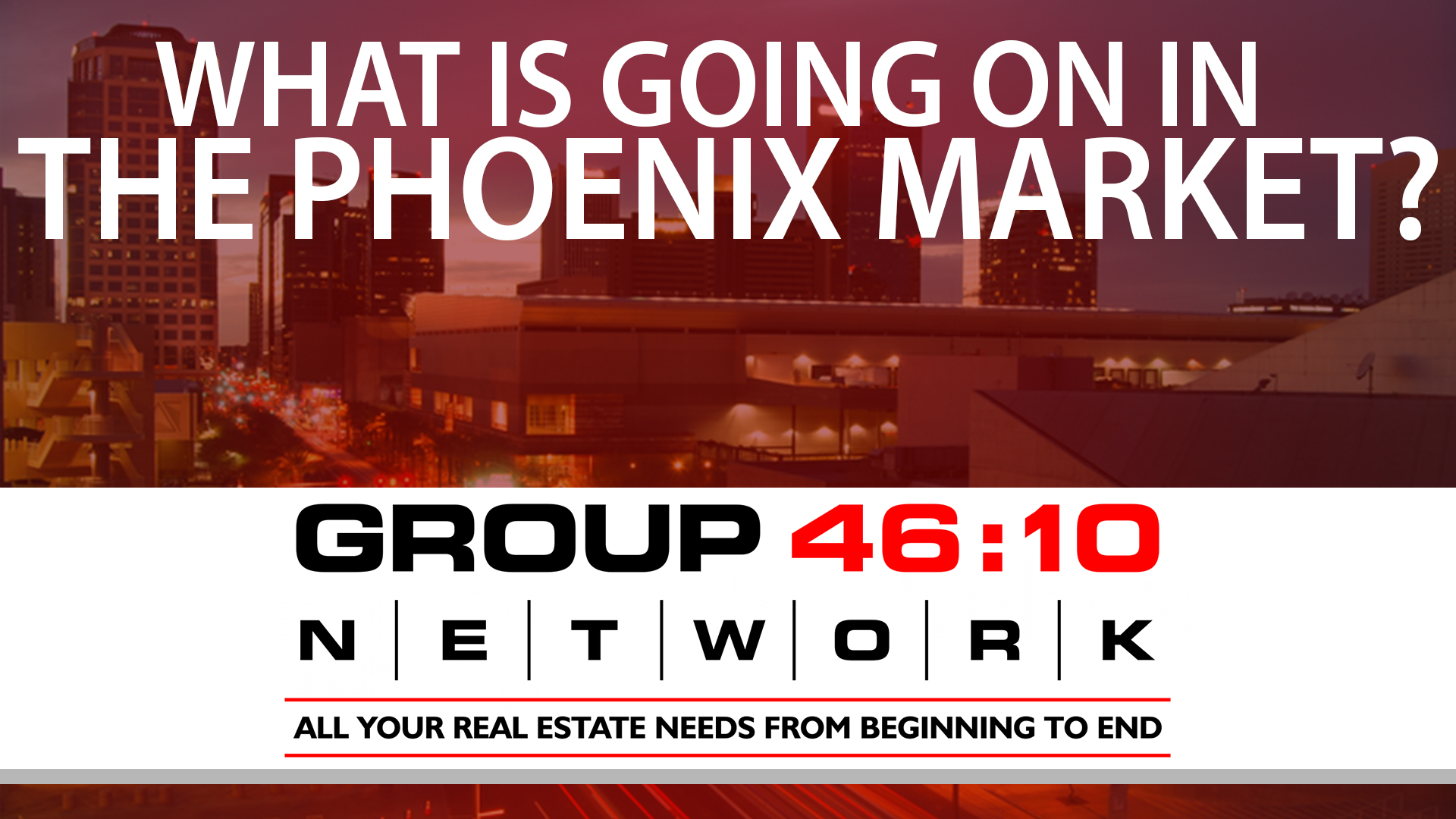Q: What's Going on in the Phoenix Real Estate Market?