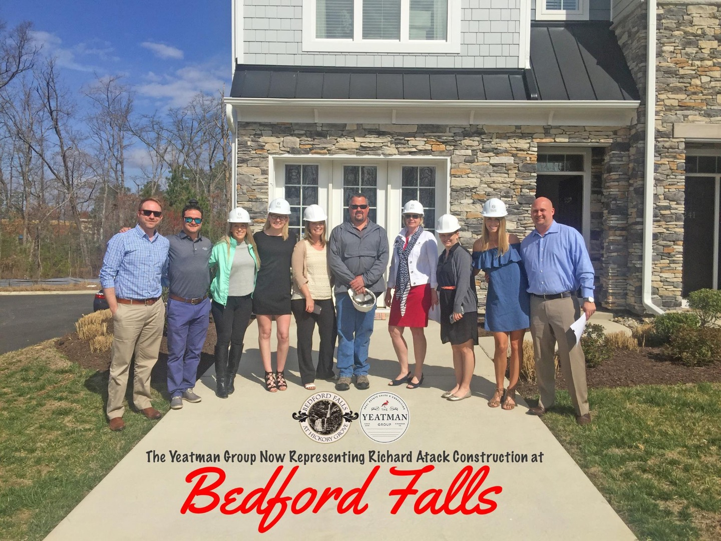 THE YEATMAN GROUP NOW REPRESENTING RICHARD ATACK CONSTRUCTION AT BEDFORD FALLS