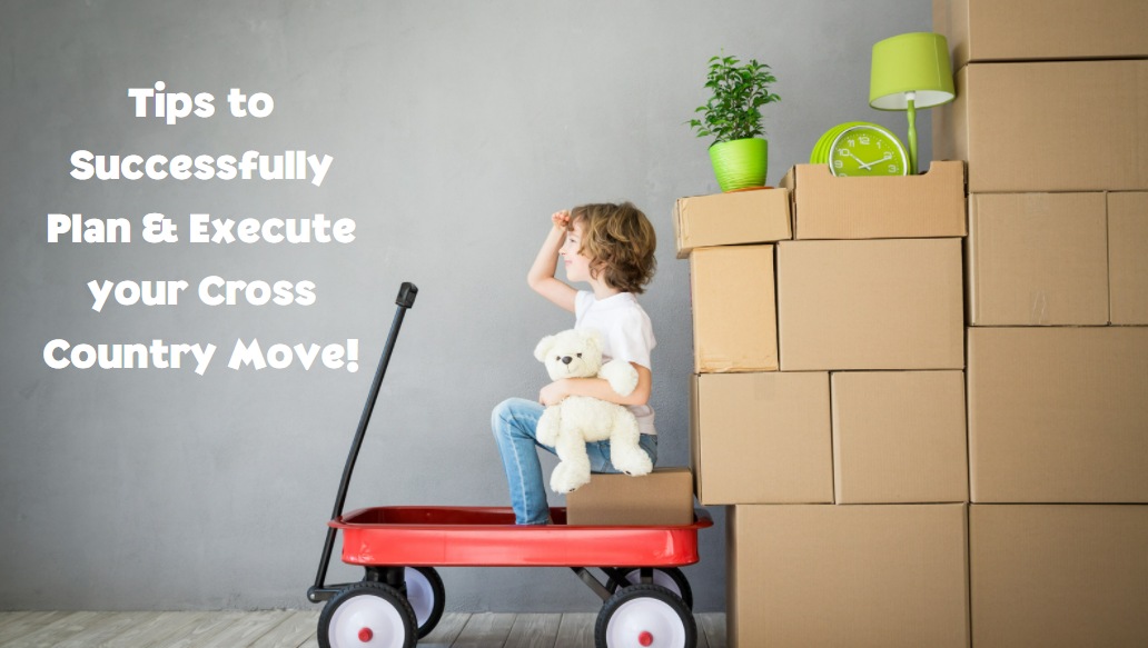 Make your Cross-Country Move as Successful as Possible with these Tips!