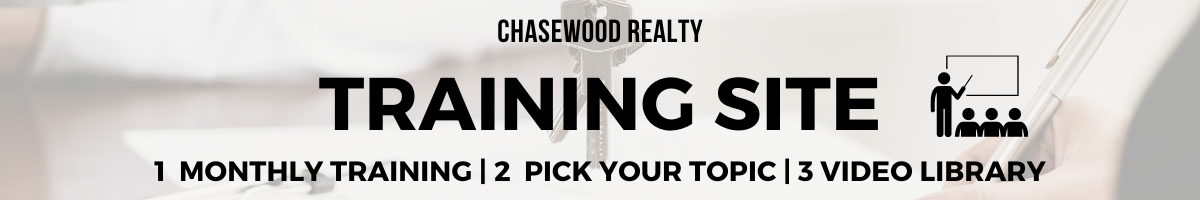 Chasewood Realty Training Site