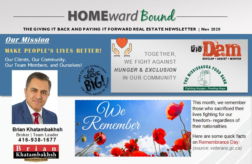 Homeward Bound Newsletter- November 2020