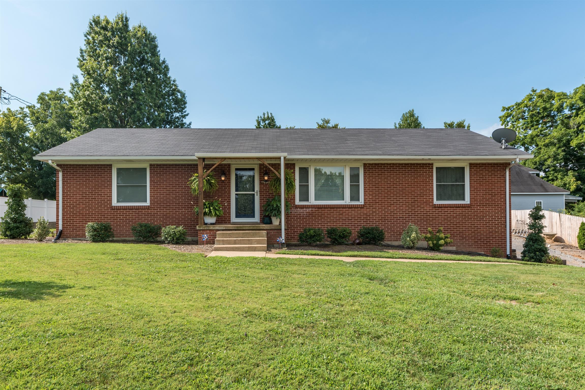Charming Ranch Brick Home With New Updates Located At 101 Old Westmoreland Rd., Portland, TN.  37148