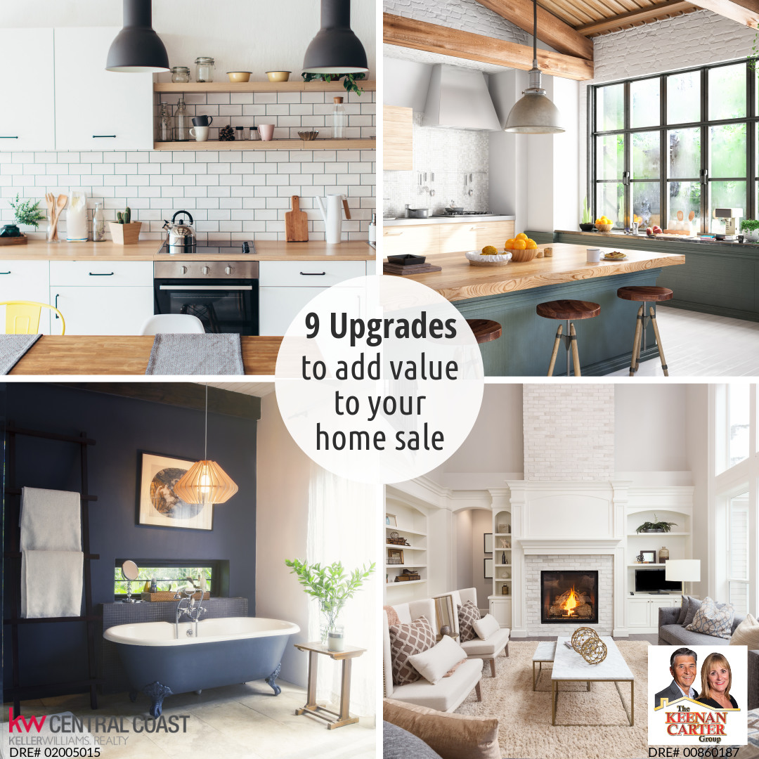 9 Upgrades To Add Value To Your Home Sale