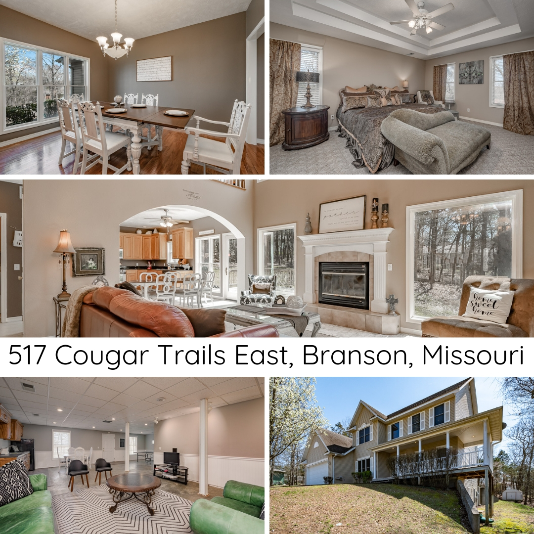 BRANSON MO REAL ESTATE | 517 Cougar Trails East | MLS #60133403