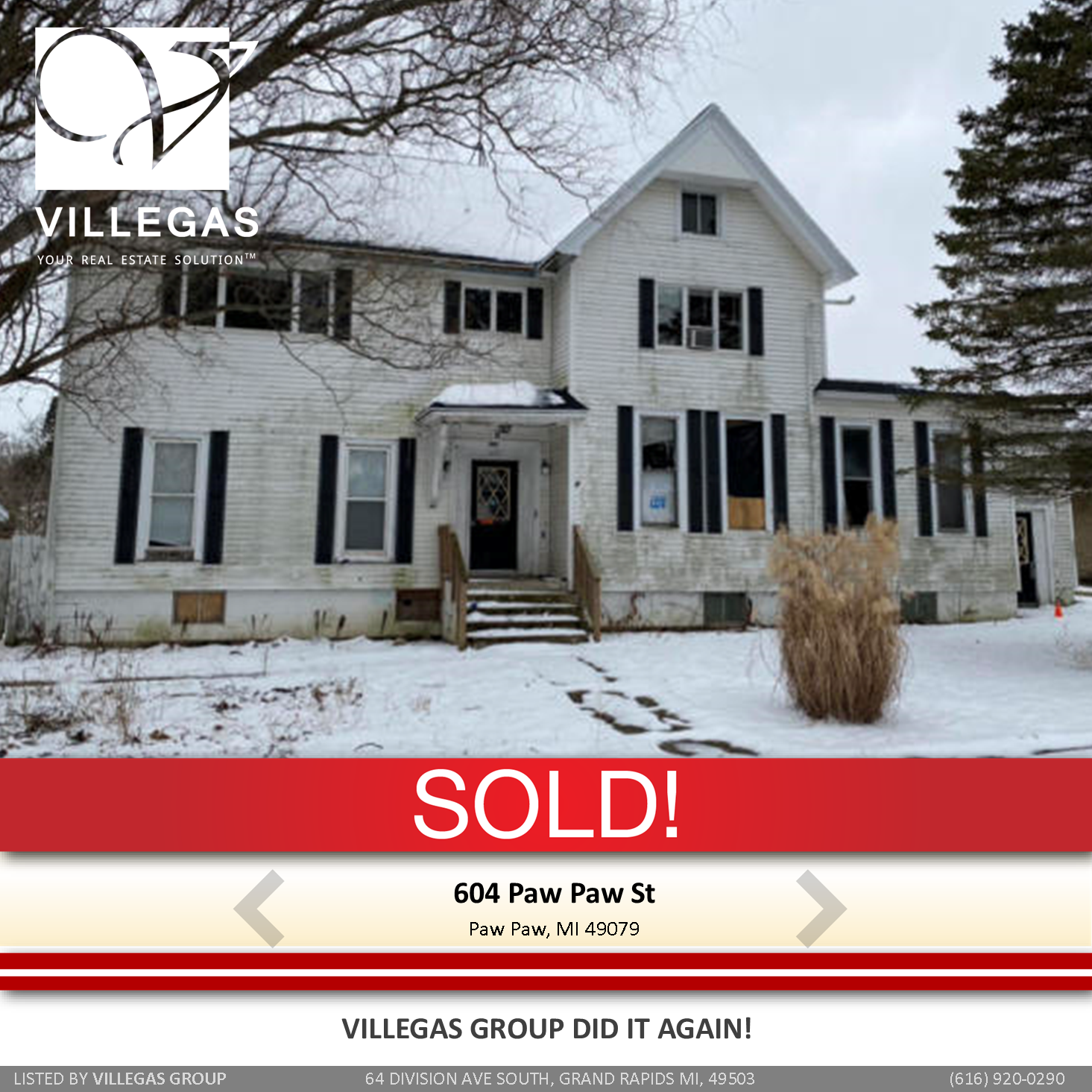SOLD by Villegas Group