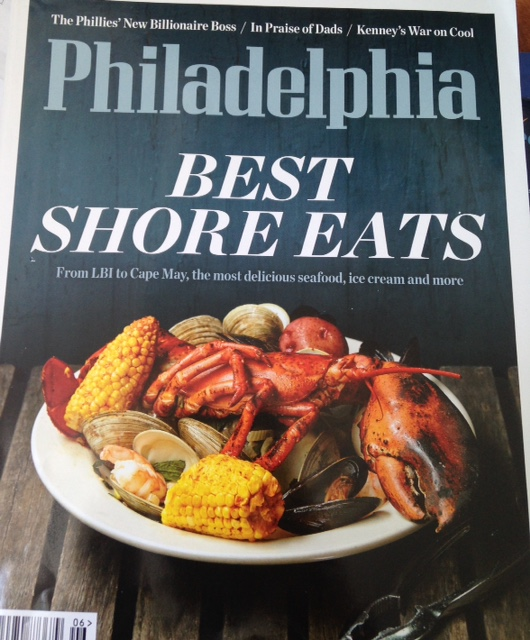 Philadelphia Magazine Features the Best Jersey Shore Eats on the June 2016 Cover