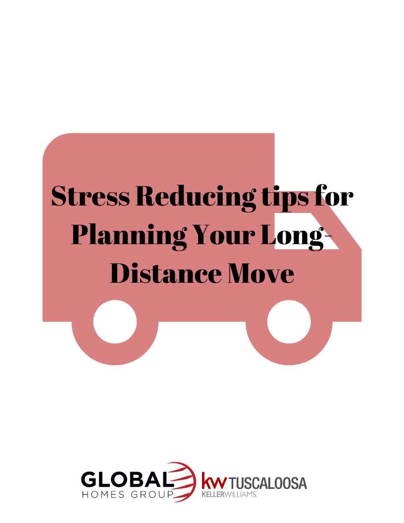 Stress Reducing tips for Planning Your Long-Distance Move!
