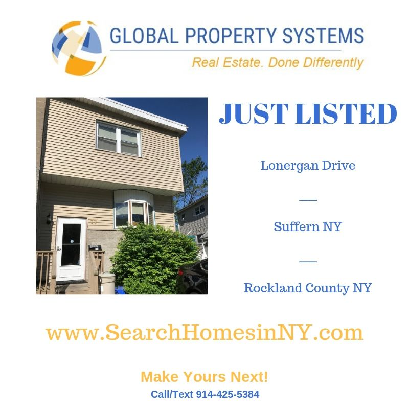 JUST LISTED | 77 LONERGAN DRIVE, SUFFERN NY 10901 | A STARTER HOME FULL OF POTENTIAL