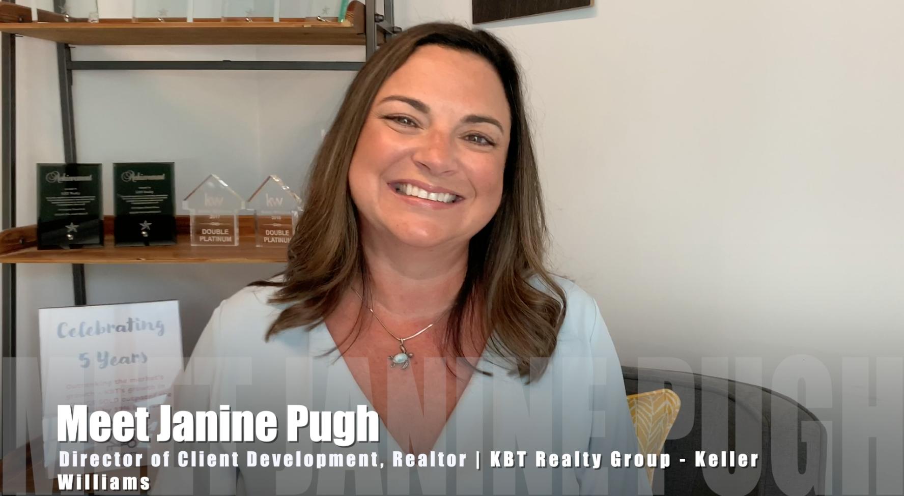 Janine Pugh, Director of Client Development for KBT Realty Group | Meet the Broker