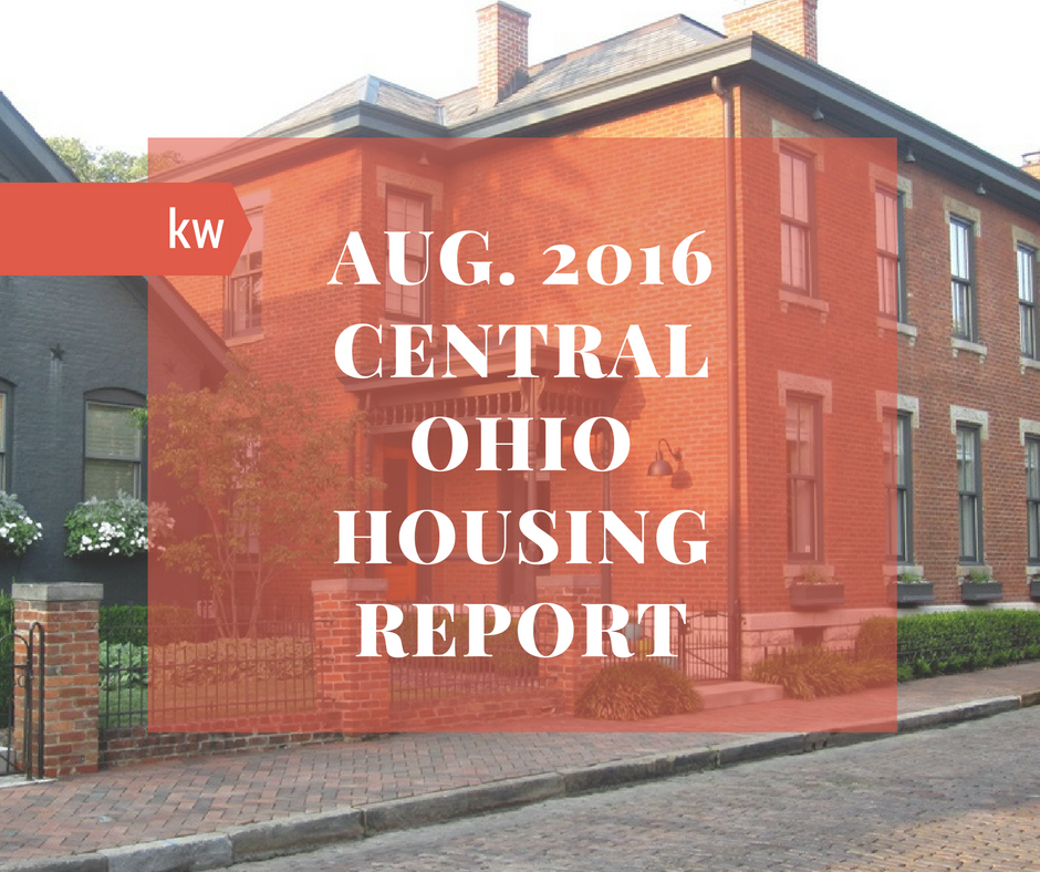 Central Ohio Housing Report - August 2016