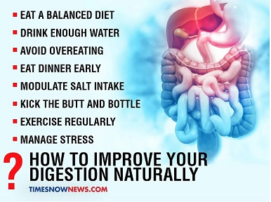 Some natural ways to improve your digestion during lockdown