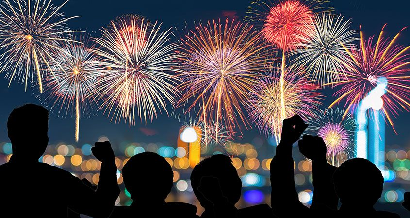 Where To Catch The Fireworks - Independence Day, 2018