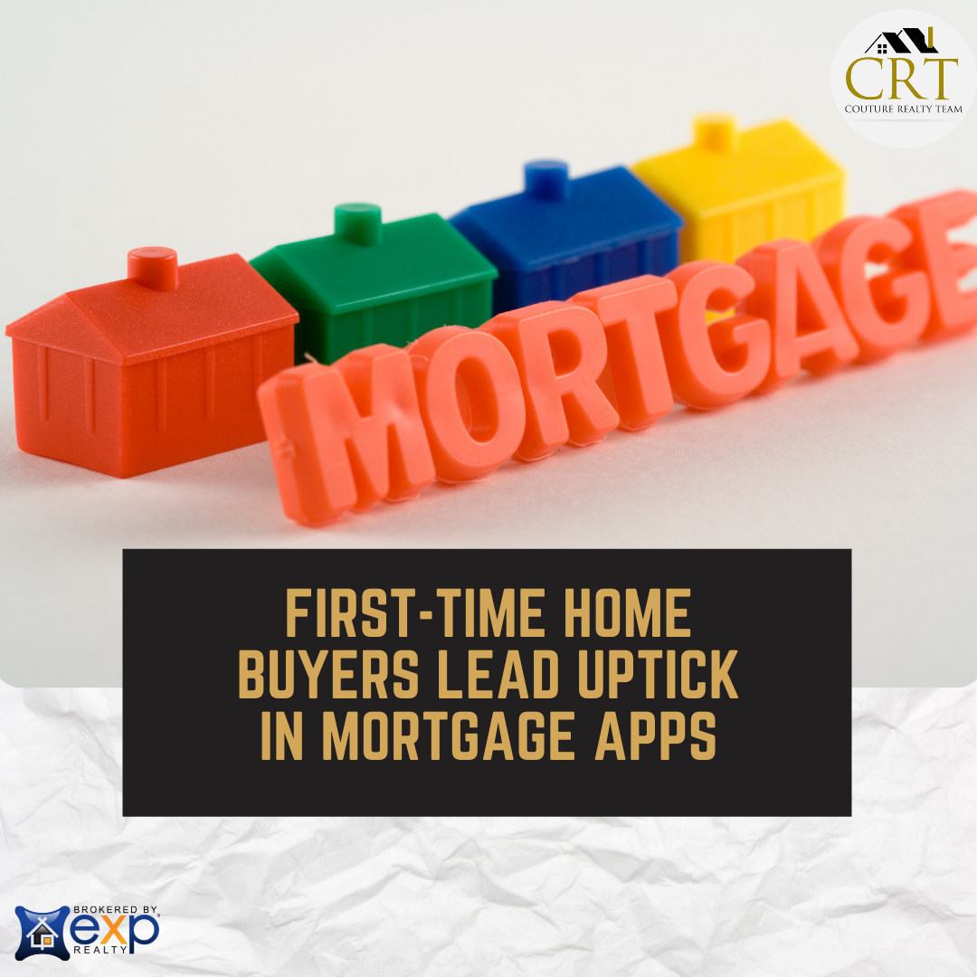 First-Time Home Buyers Lead Uptick in Mortgage Apps.png