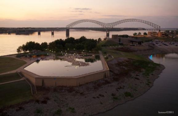 The Best Park to See Concerts in Memphis: Mud Island Park Amphitheater