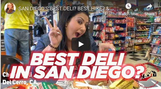 SAN DIEGO'S BEST DELI? BEST HIKE? & BEST SHOPPING!? DEL CERRO!