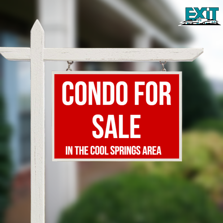 CONDO FOR SALE in Cool Springs area...$337,000