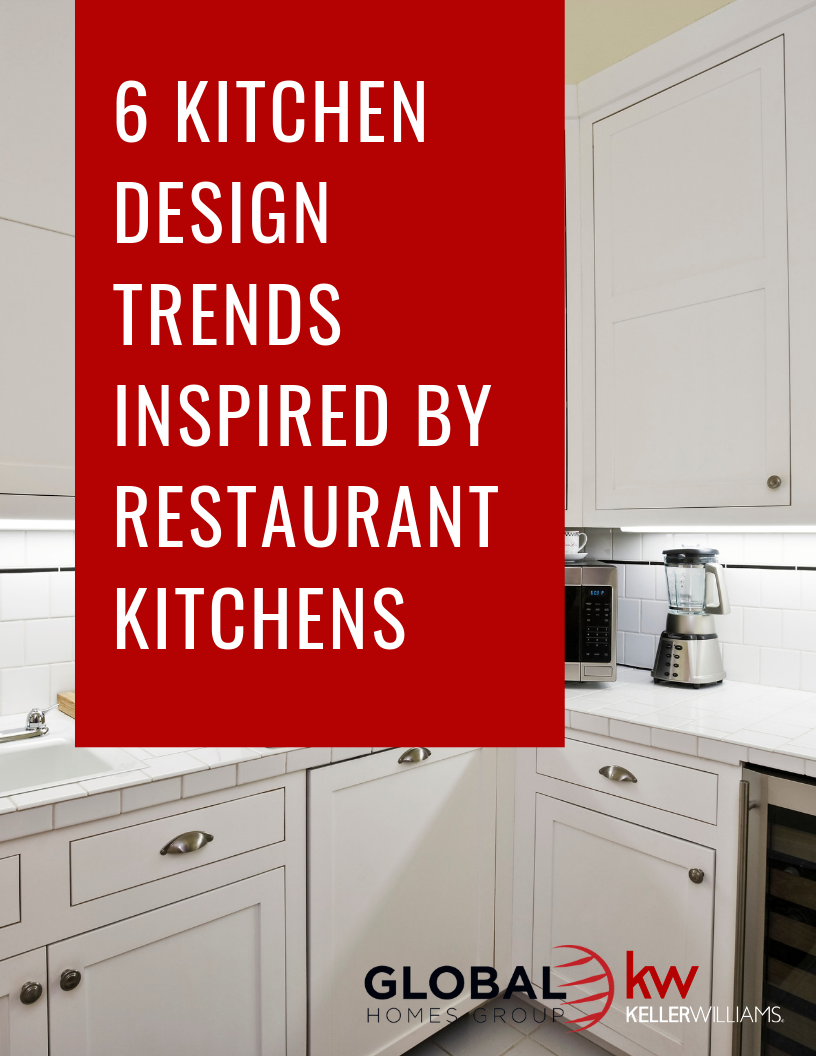 6 Kitchen Design Trends Inspired By Restaurant Kitchens