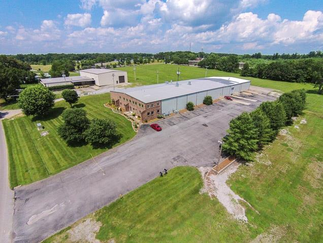 Commercial Building/Manufacturing Warehouse With 2 Story Office On Over 6 Acres!  3035 Union Rd., White House, TN, 37188