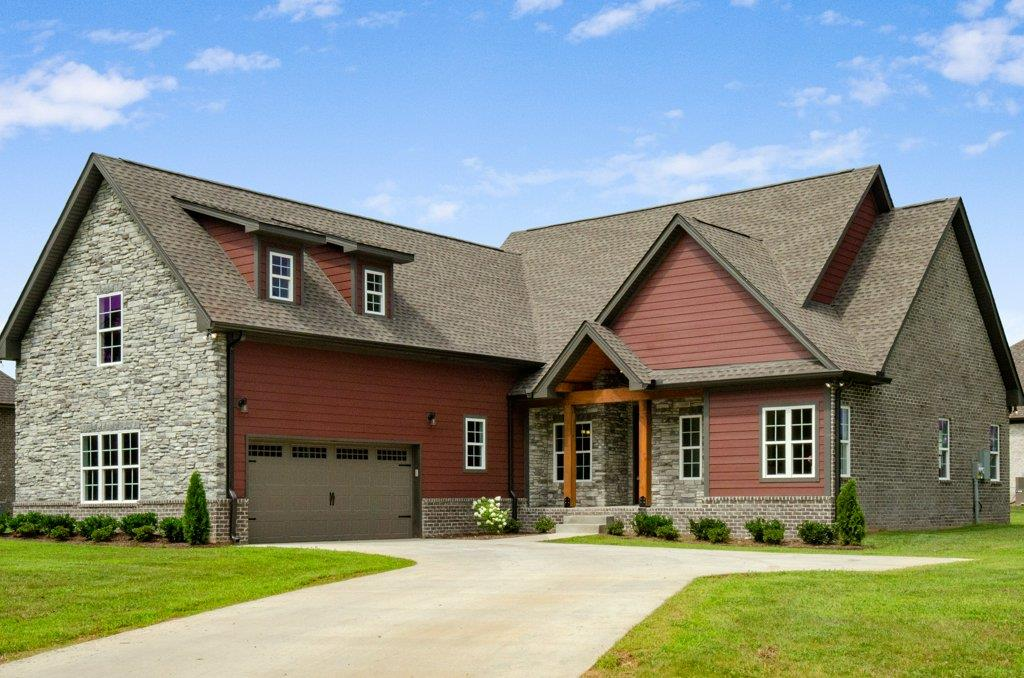 Gorgeous New Custom Home In Magnolia Springs With Rustic Accents!  136 Bloomsbury Dr, Portland, TN,  37148