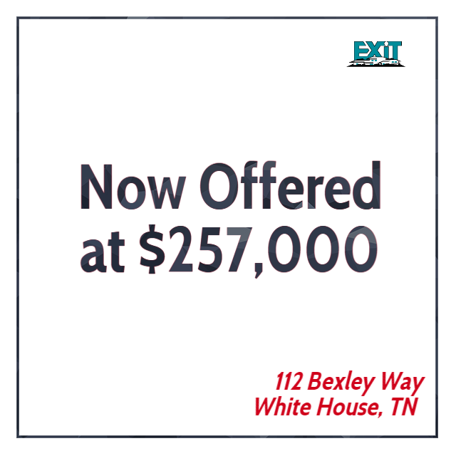 Major Price Adjustment at 112 Bexley Way, White House, TN