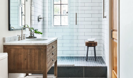 12 Ways to Get a Luxe Bathroom Look for Less.