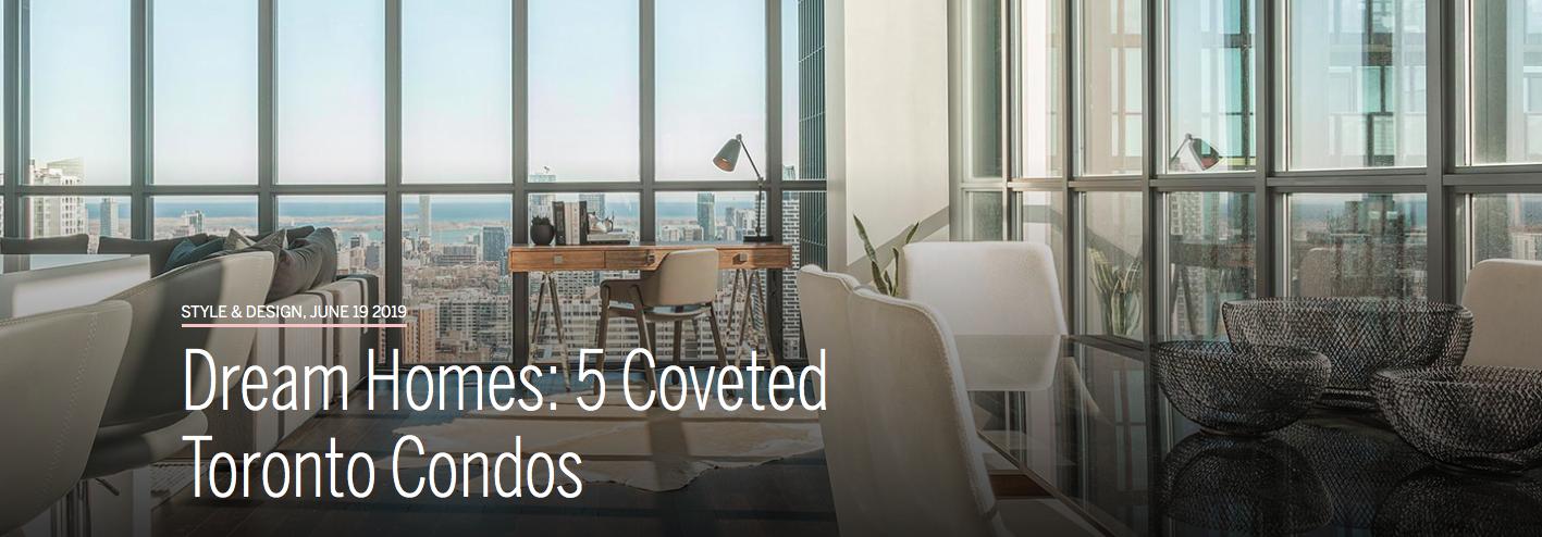 Dream Homes: 5 Coveted Toronto Condos