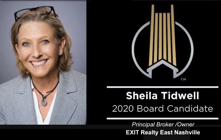 Greater Nashville Realtors Board of Directors 2020 Election - Vote For Sheila