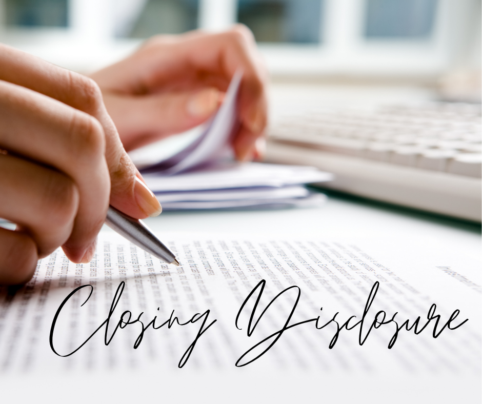 What is a Closing Disclosure? by Deb Hasselquist