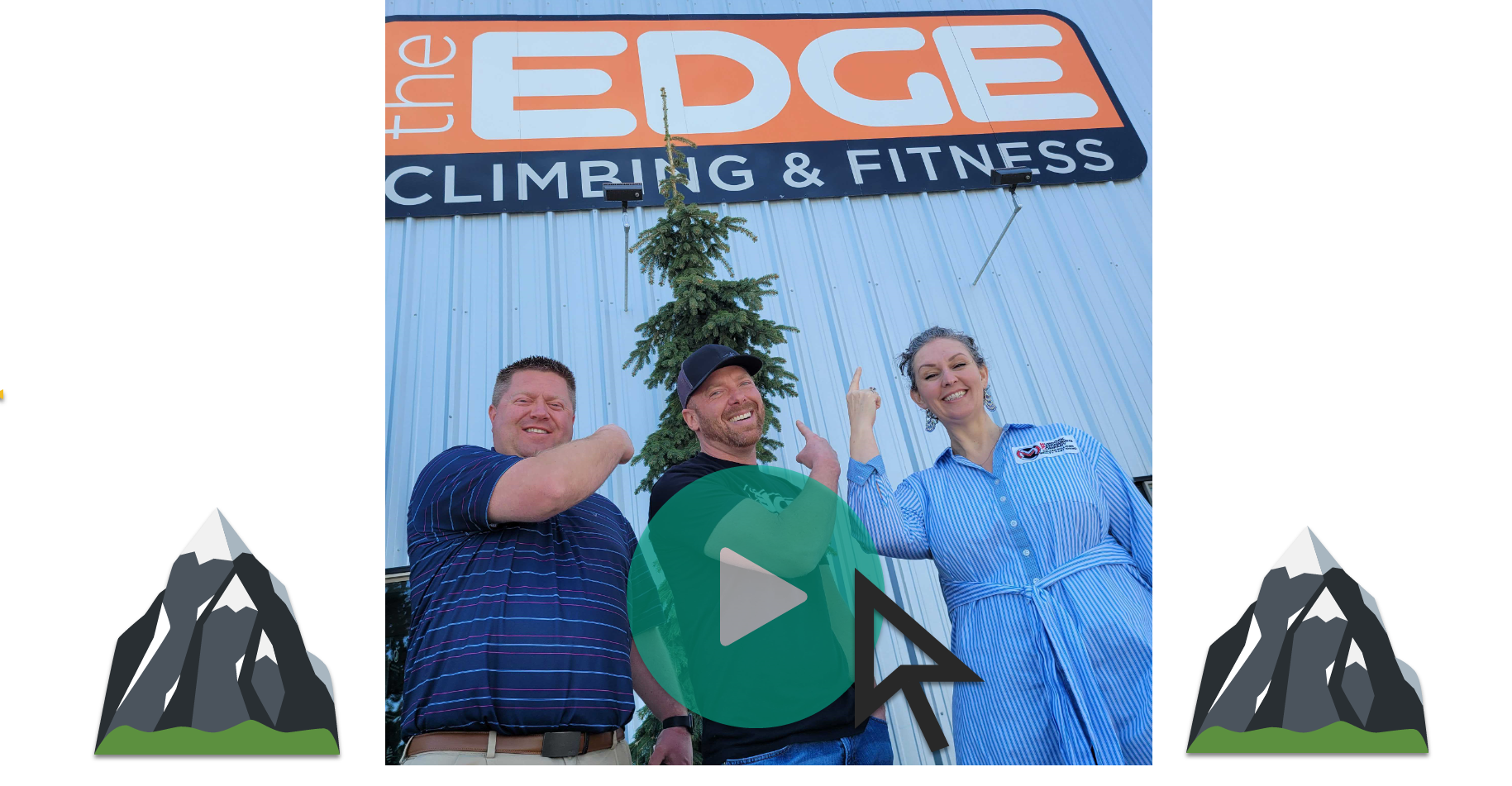 The Knowsy Neighbors visit The Edge Climbing and Fitness