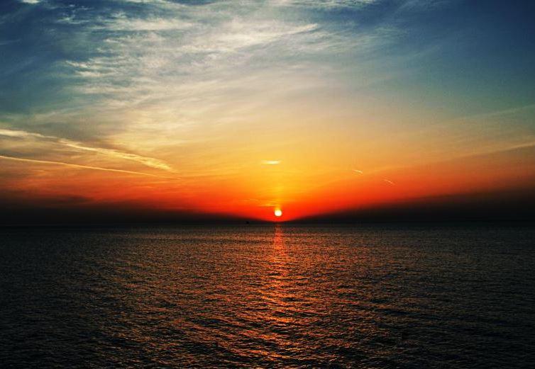 Beautiful sunrise views over the lake.JPG