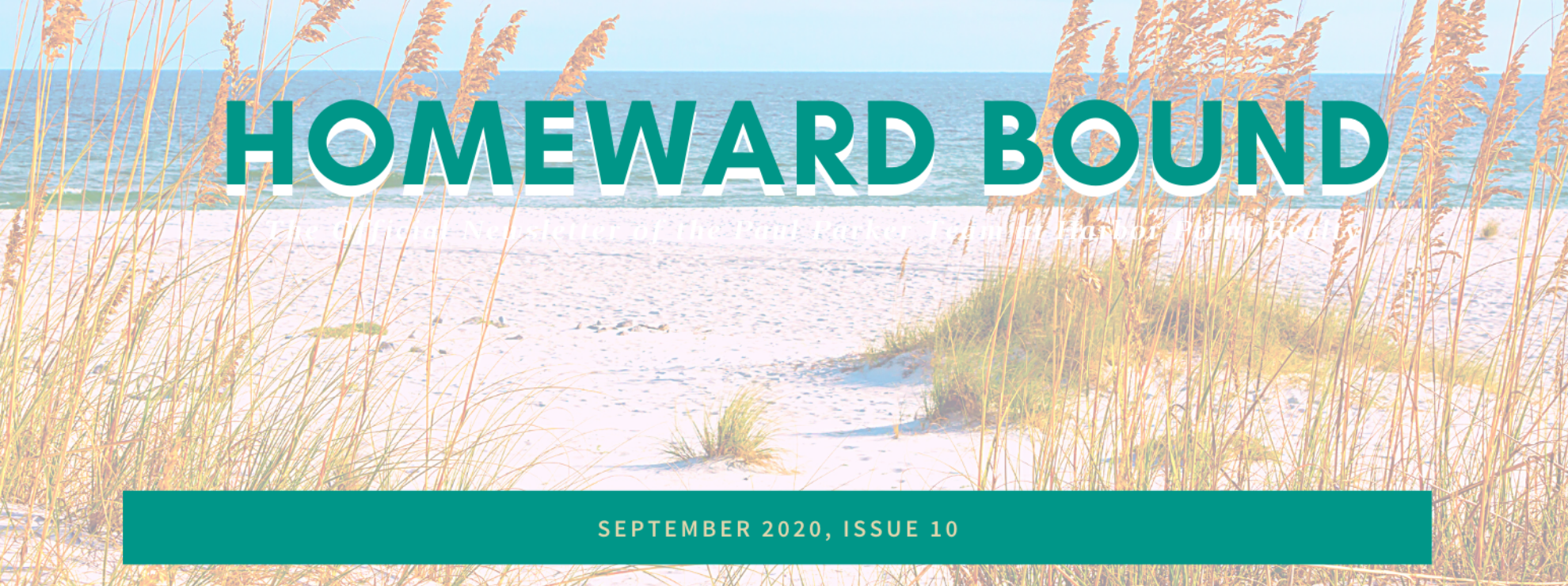 September Homeward Bound Newsletter
