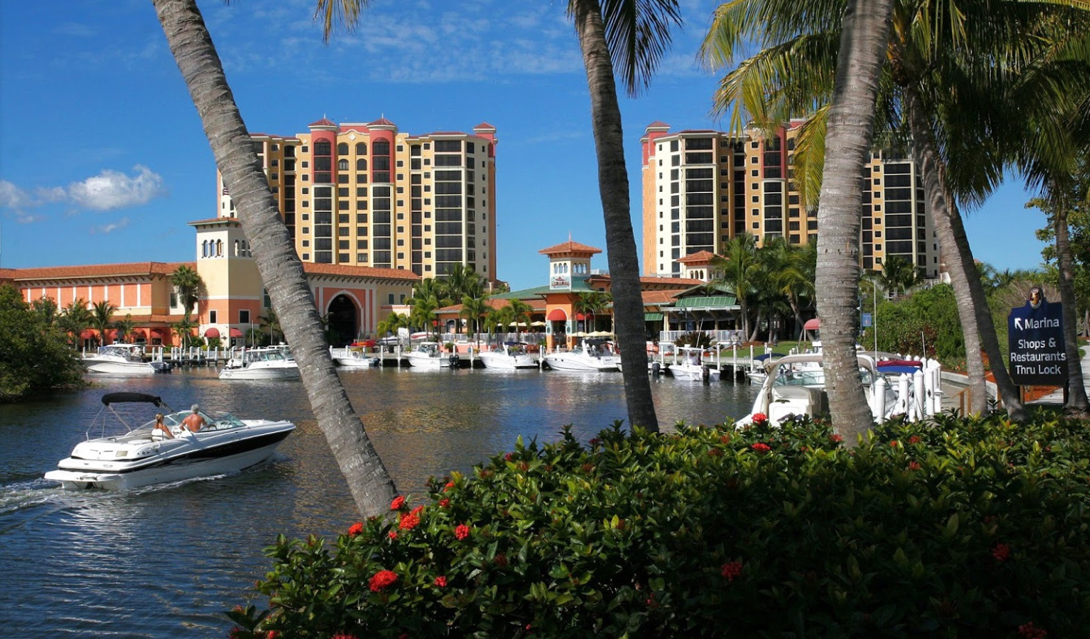 SWFL Waterfront Restaurants By Boat