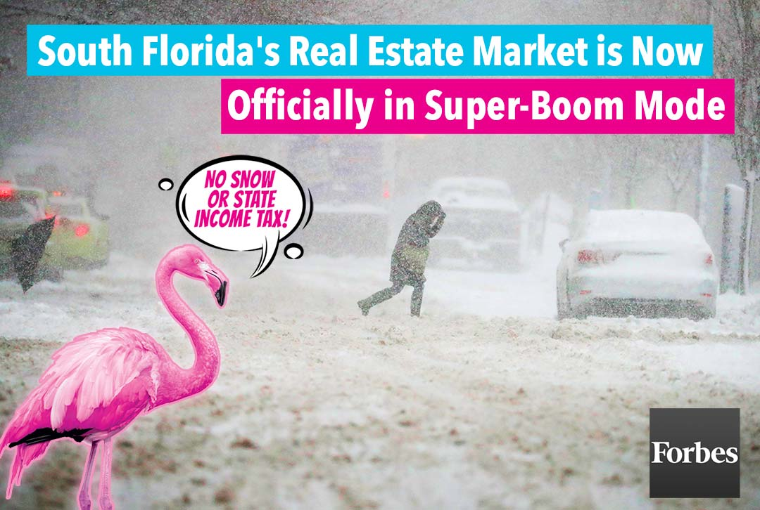 South Florida's real estate market is now officially in super-boom mode