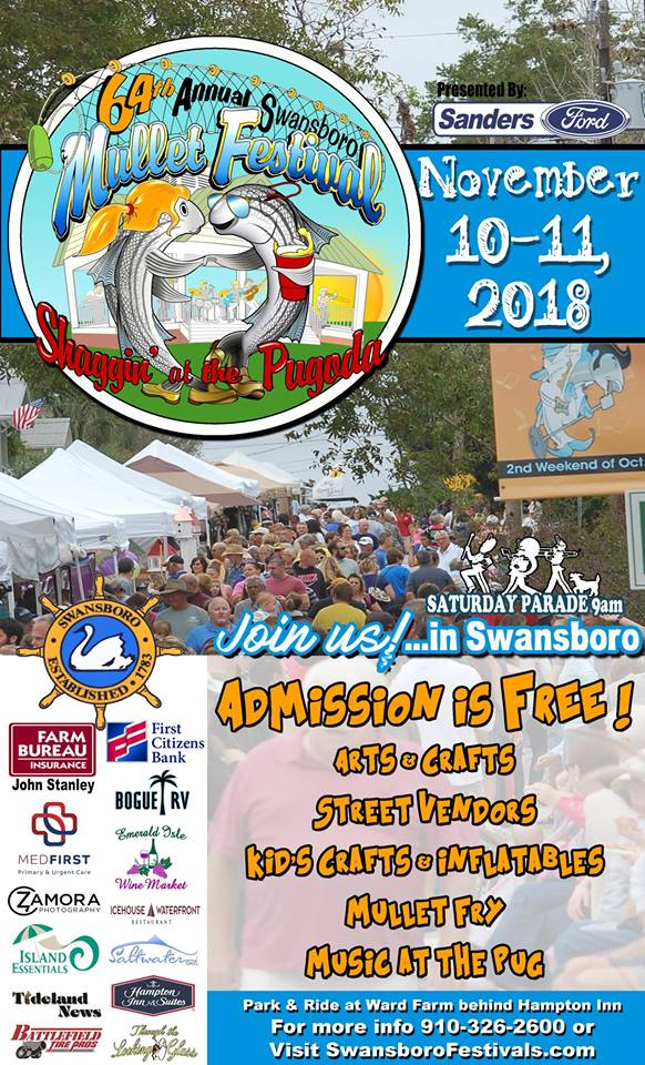 Better Late than Never - 64th Annual Swansboro Mullet Festival