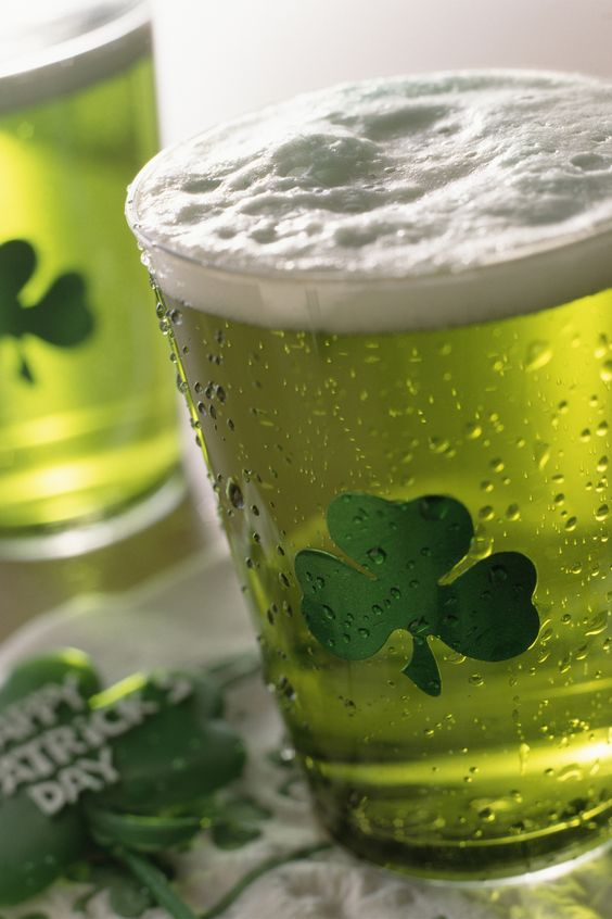 St. Patrick's Day is a big day for celebrating with a festive beverage!