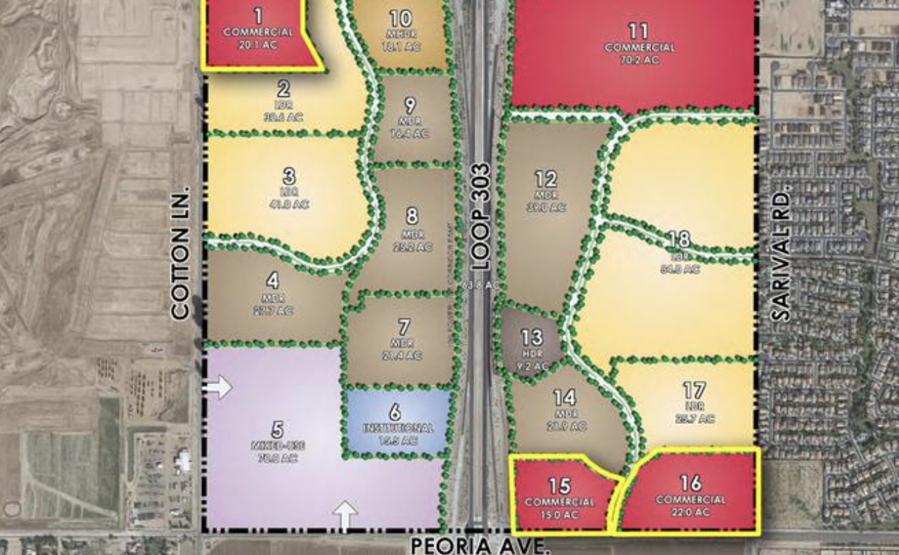 Scottsdale homebuilder pays $25M for large tract of land along Loop 303