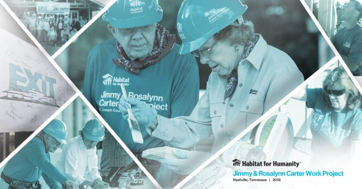 EXIT Realty Corp. International to Support Habitat for Humanity's 2019 Jimmy & Rosalynn Carter Work Project