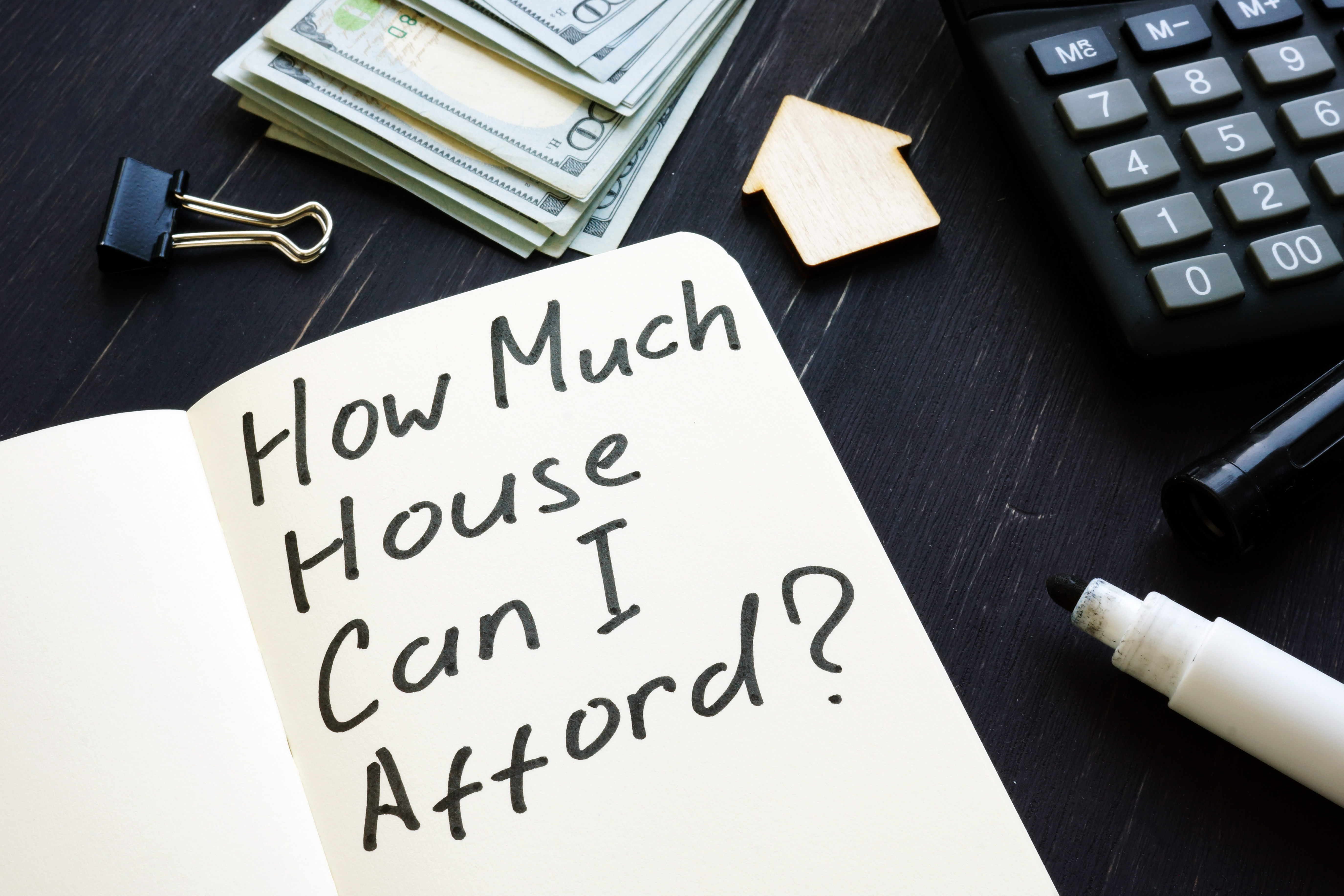 How Much Can You  Afford to Spend on a Home?